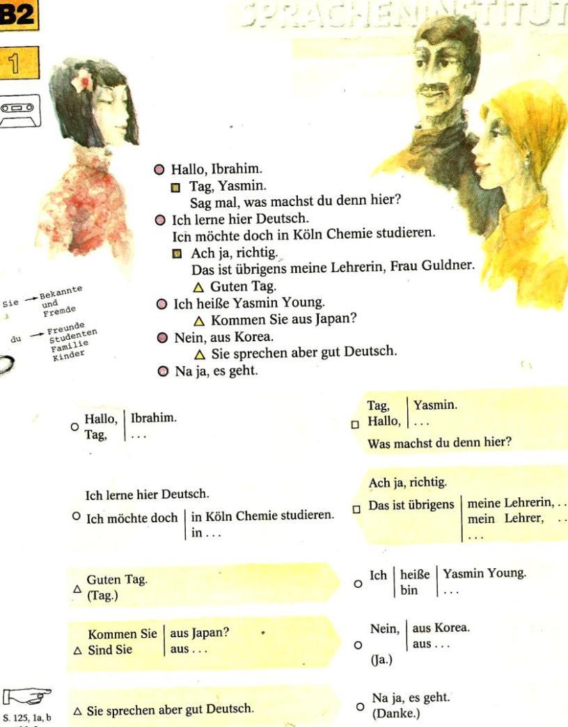 диалоги знакомства на французском язык