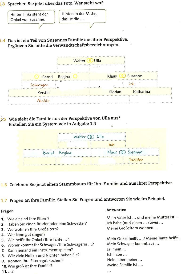 Дать ответ на вопрос в немецком языке